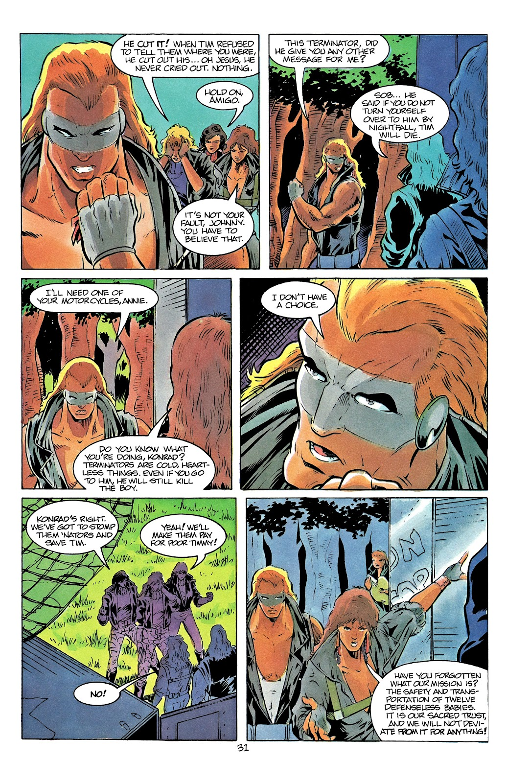 The Terminator (1988) issue 12 - Page 36