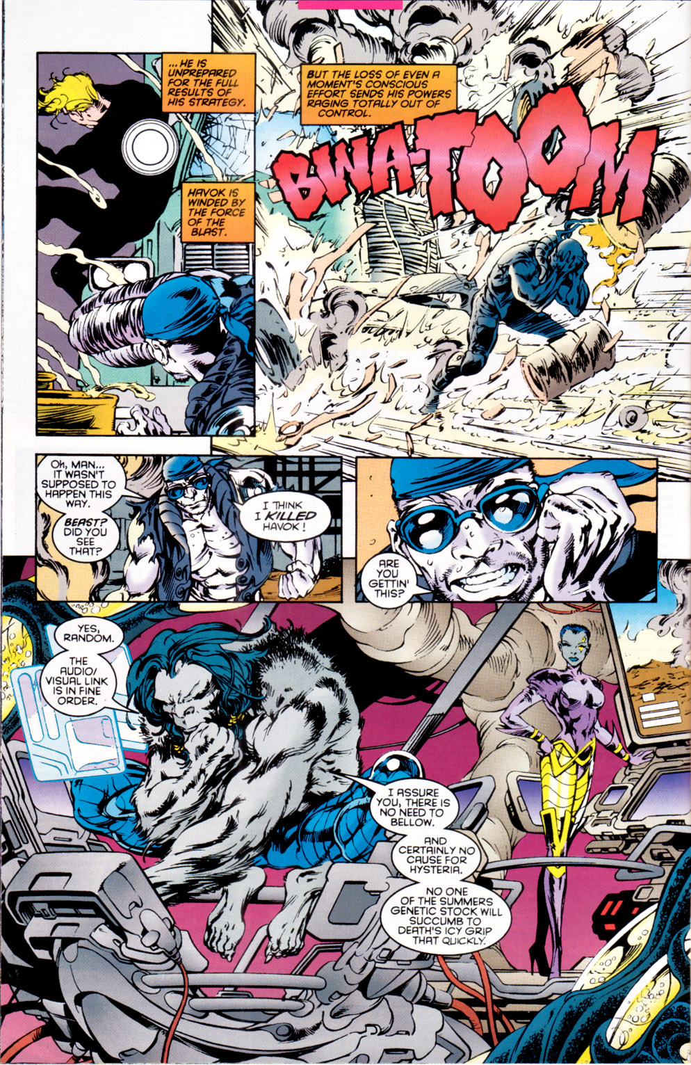Read online X-Factor (1986) comic -  Issue #118 - 6