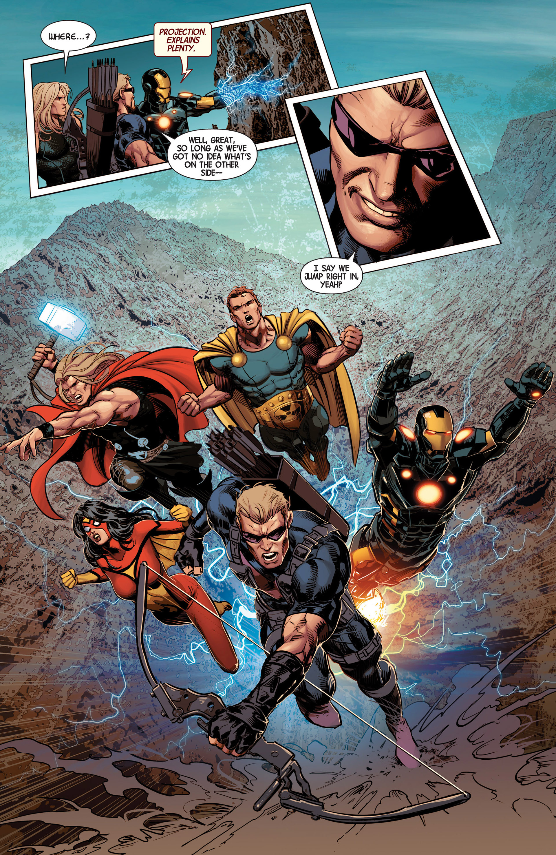 Read online Avengers (2013) comic -  Issue #13 - 12