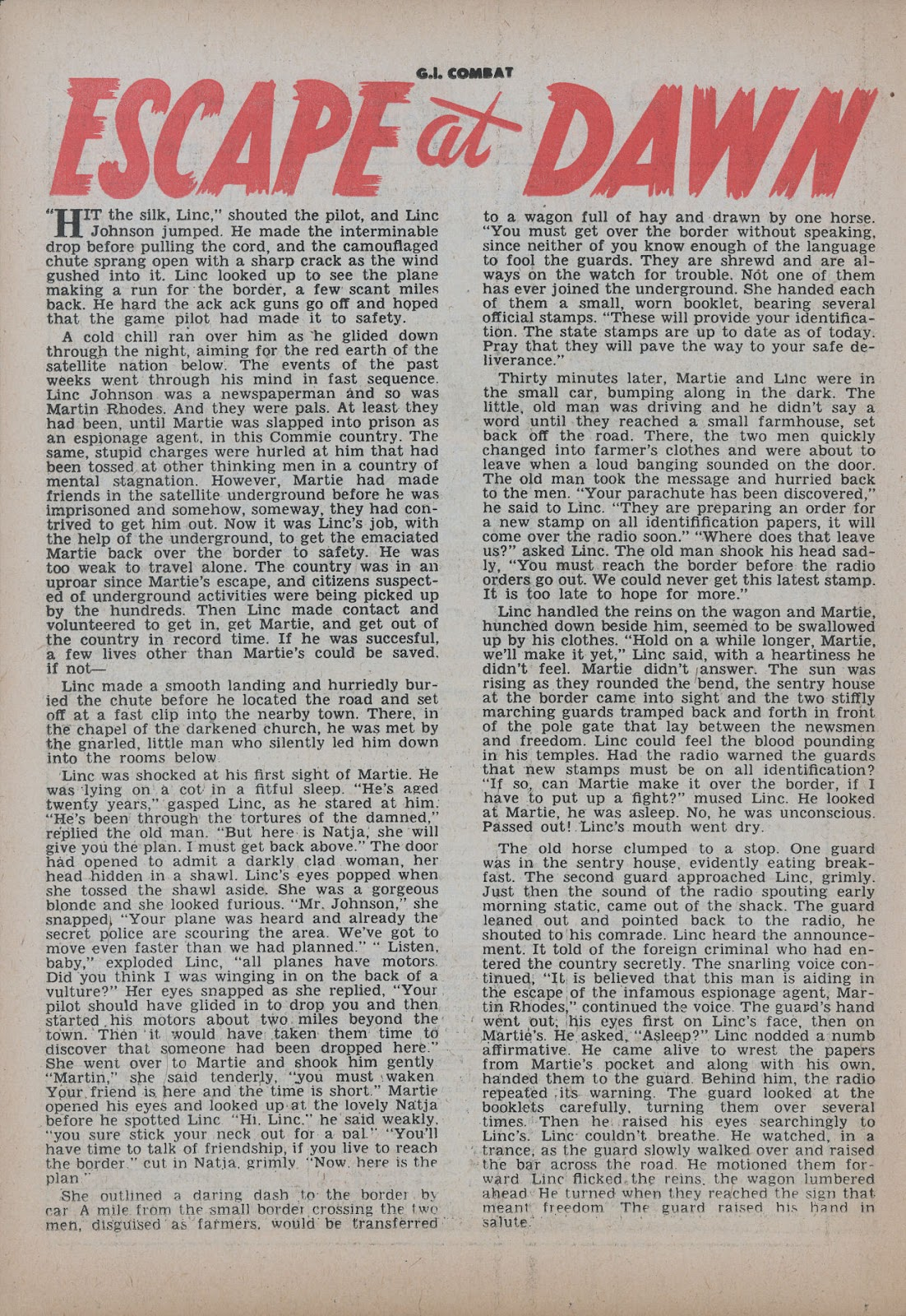 G.I. Combat (1952) issue 26 - Page 26
