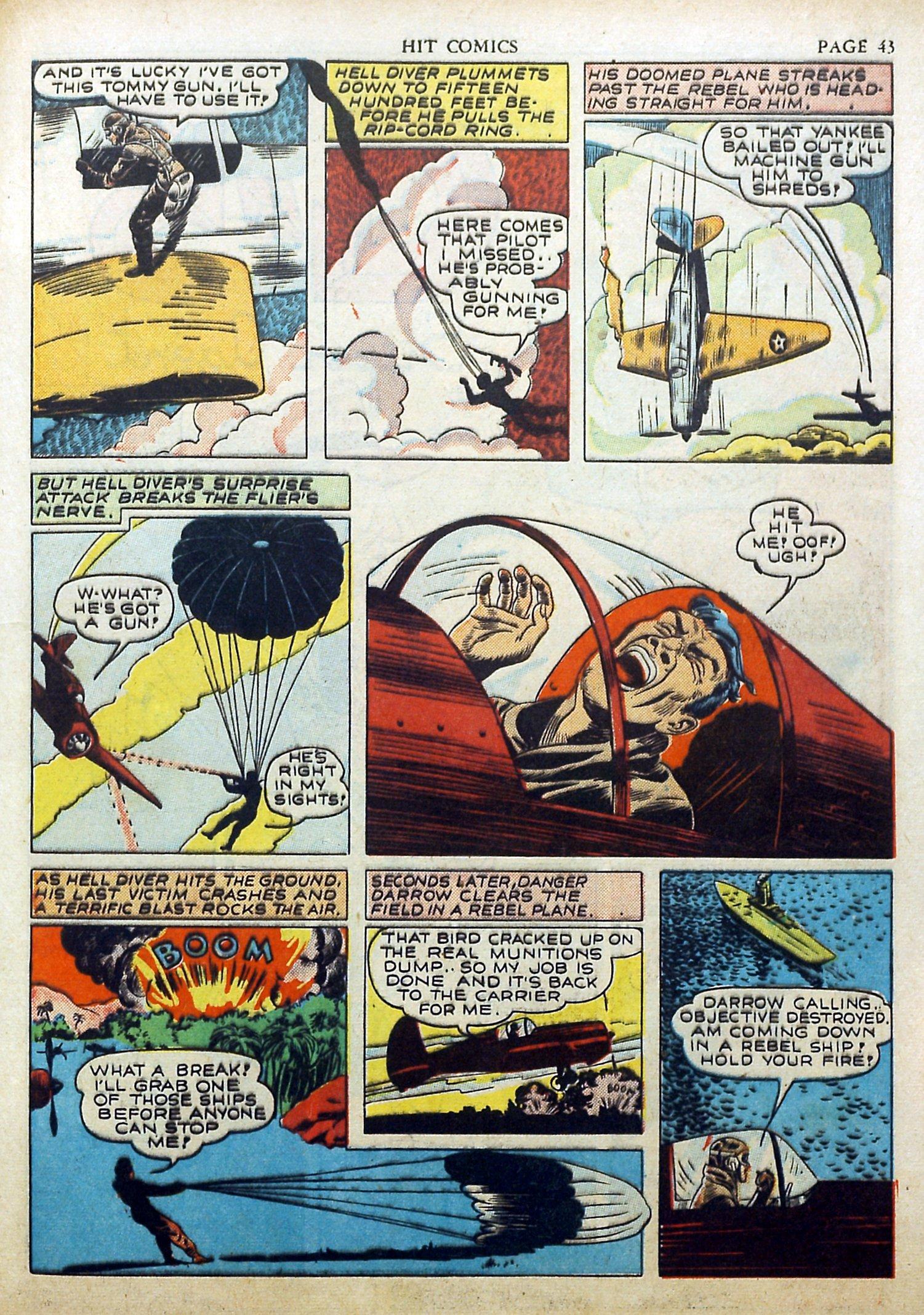 Read online Hit Comics comic -  Issue #17 - 45