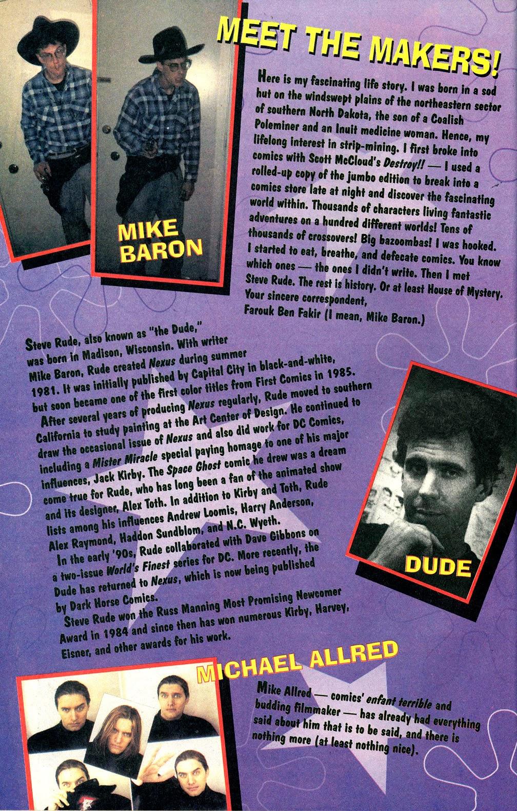Read online Nexus Meets Madman comic -  Issue # Full - 28
