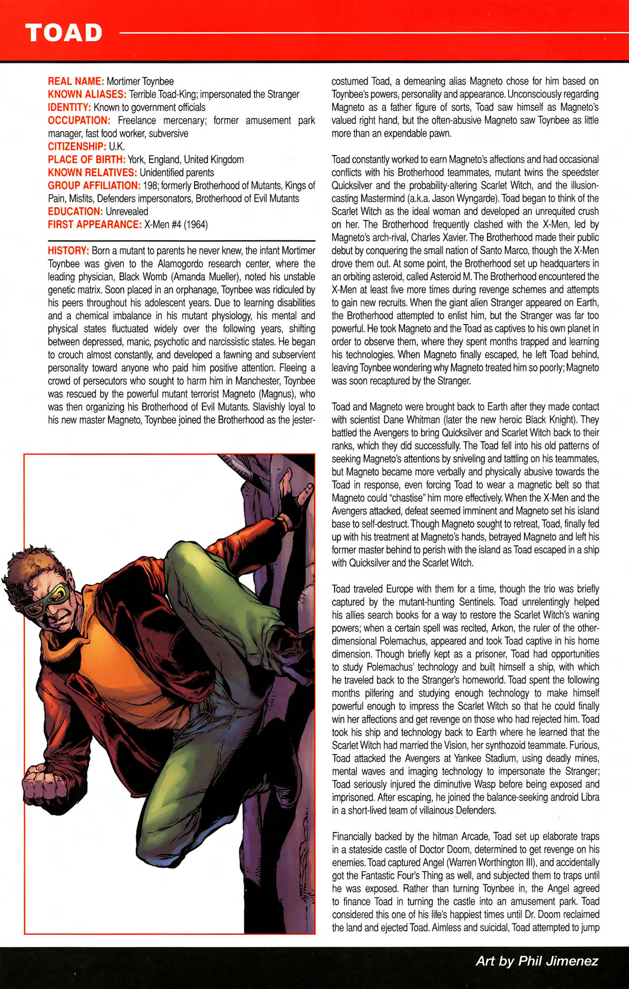Read online All-New Official Handbook of the Marvel Universe A to Z comic -  Issue #11 - 50