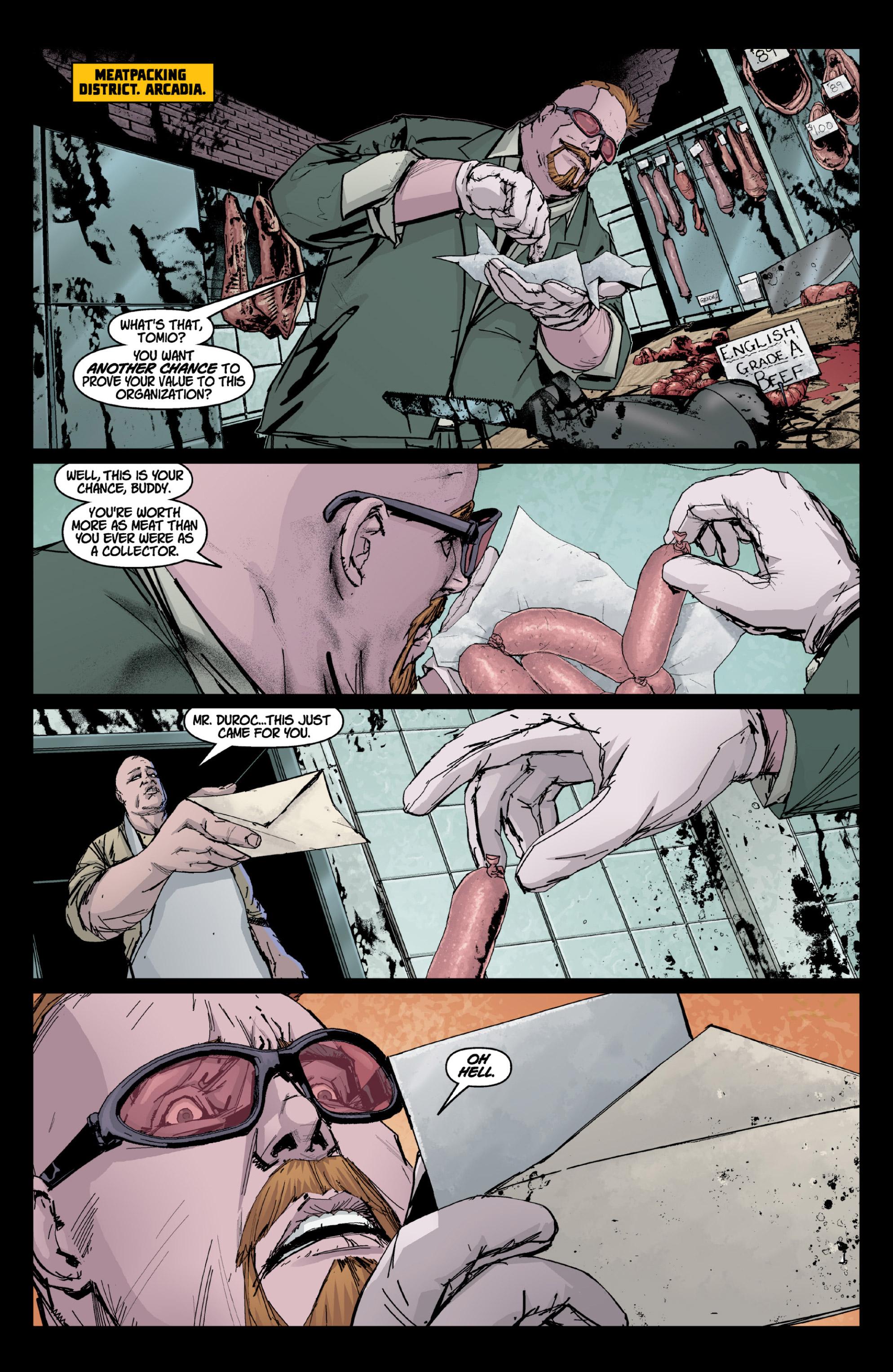 Read online X: Big Bad comic -  Issue # Full - 8