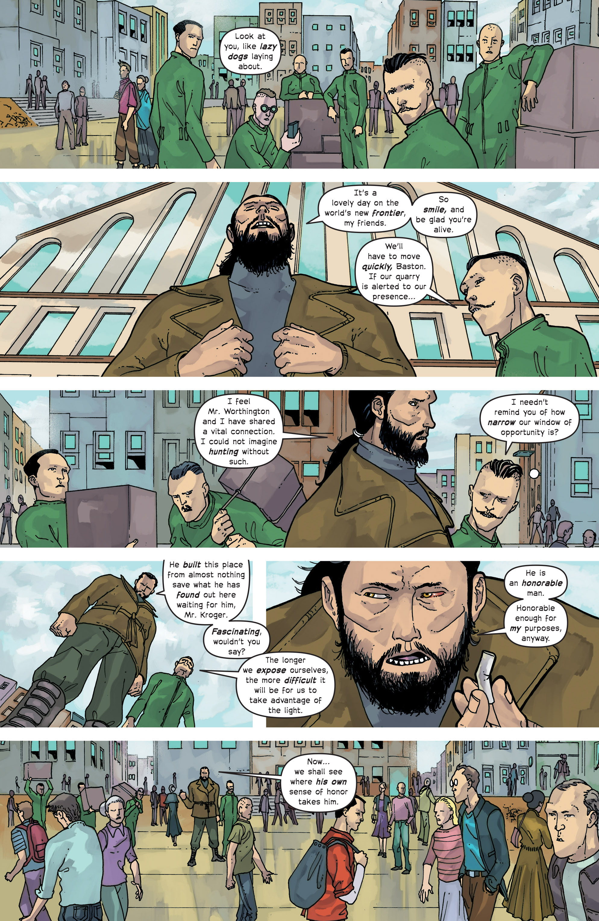 Read online Great Pacific comic -  Issue #15 - 14