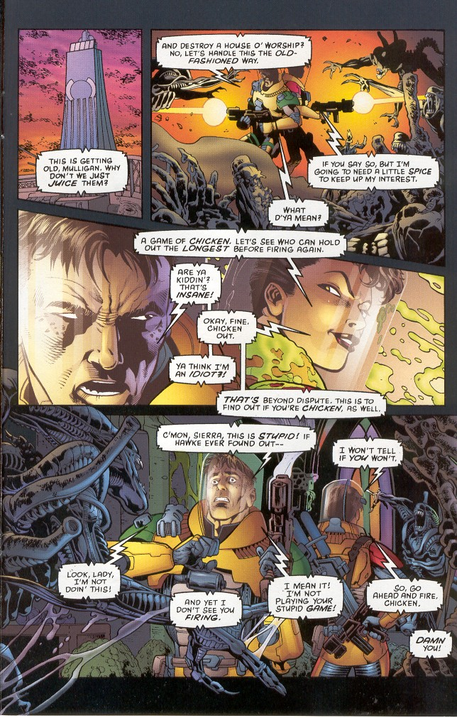 Read online Aliens: Xenogenesis comic -  Issue #1 - 15