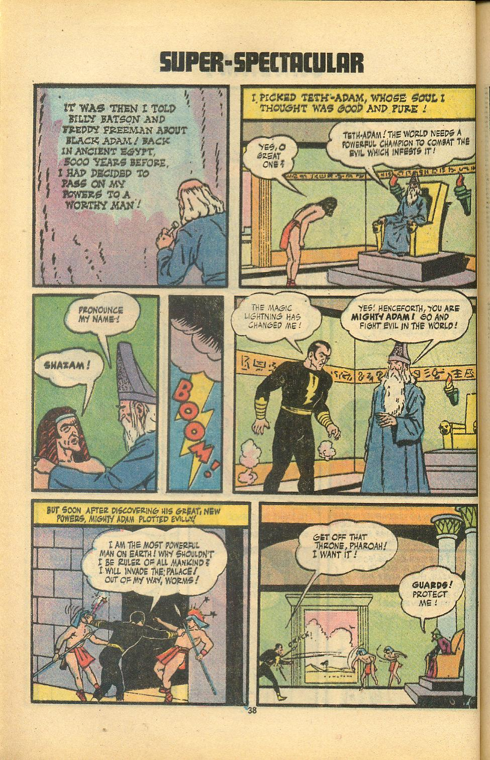Read online Shazam! (1973) comic -  Issue #8 - 38