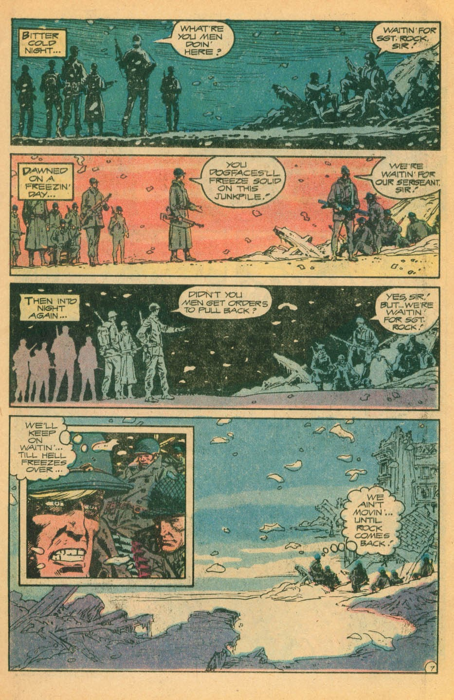 Read online Sgt. Rock comic -  Issue #328 - 8