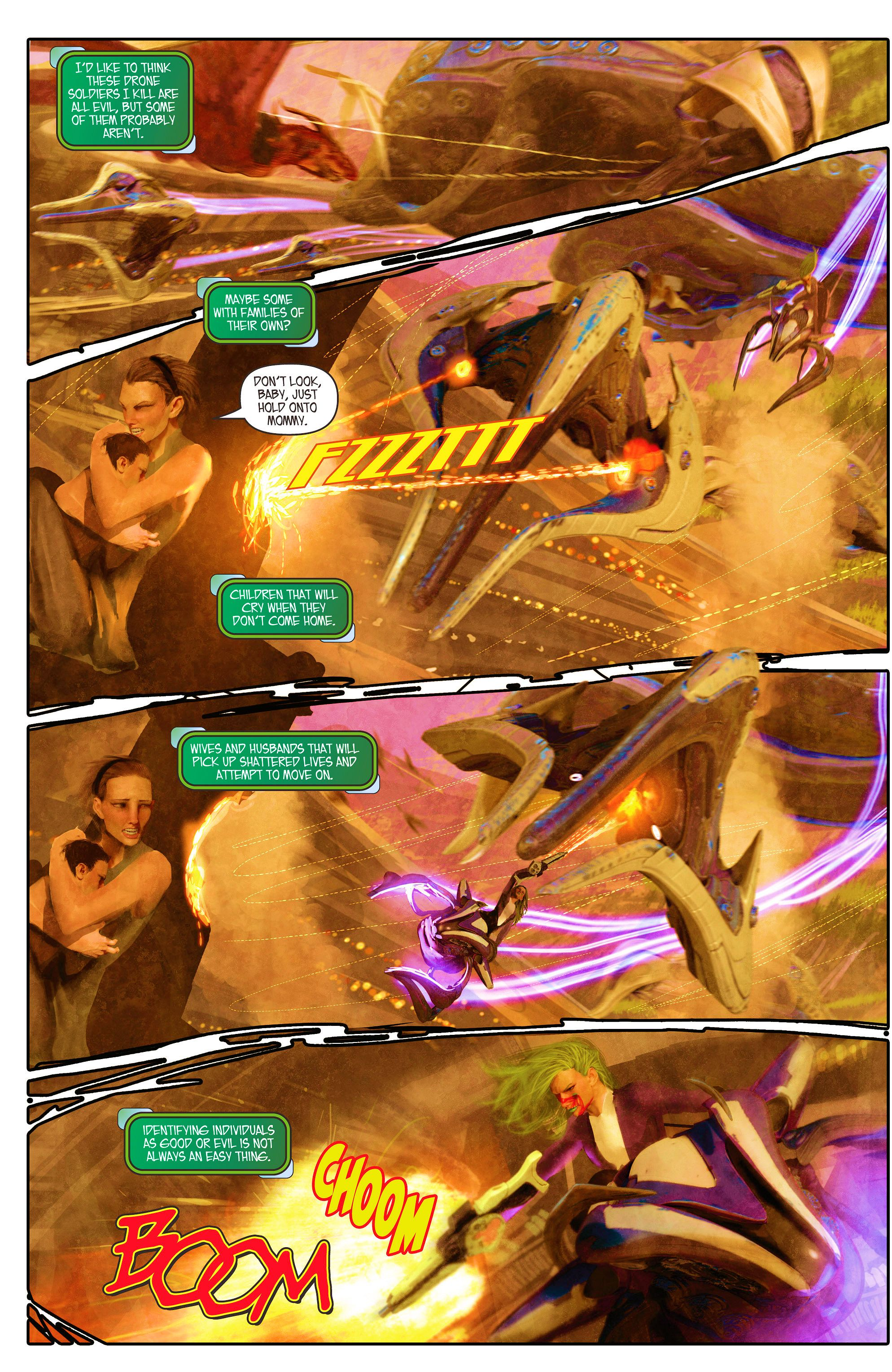 Read online Aphrodite IX (2013) comic -  Issue #5 - 10