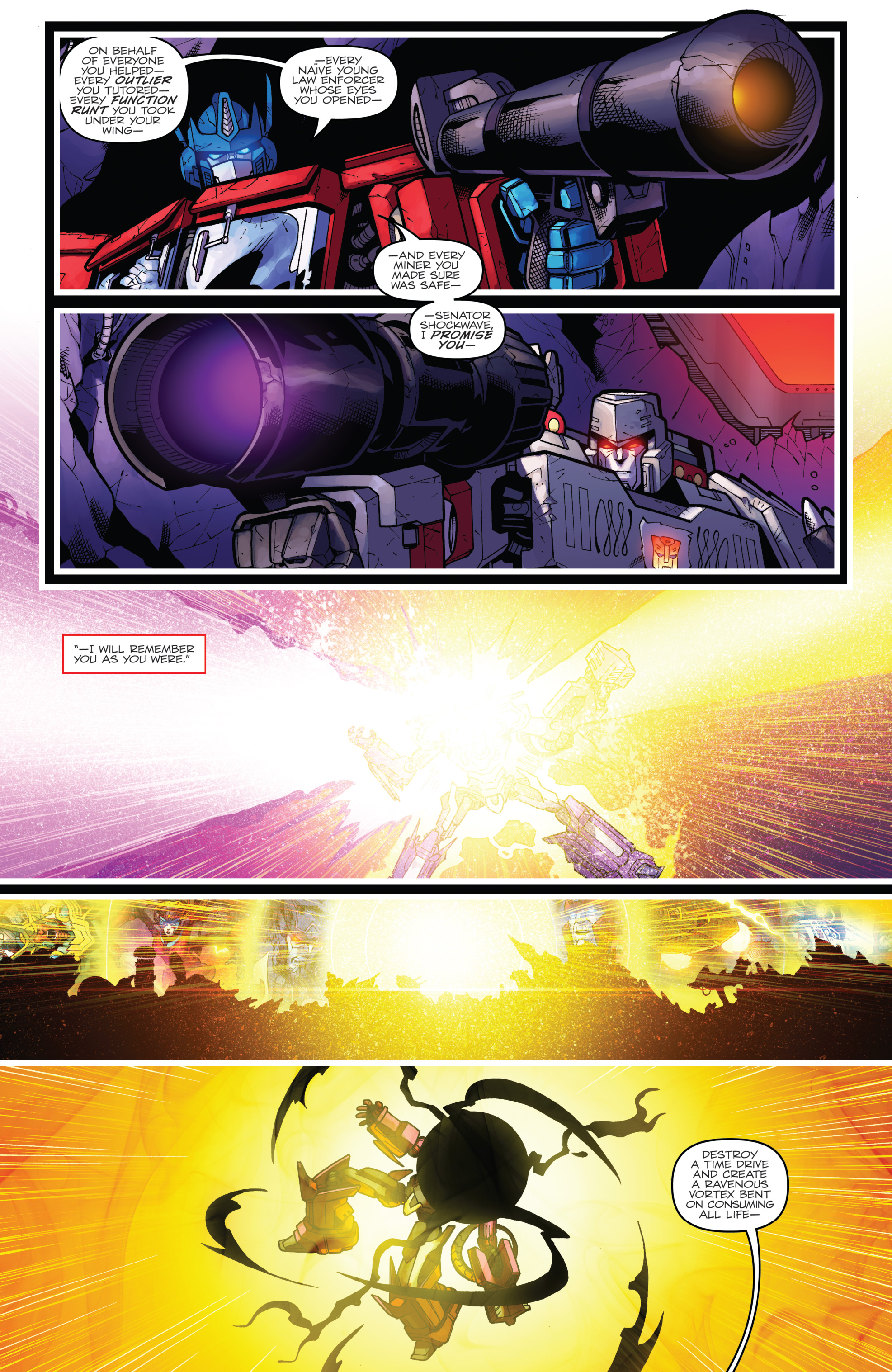 Read online The Transformers: Dark Cybertron Finale comic -  Issue # Full - 142