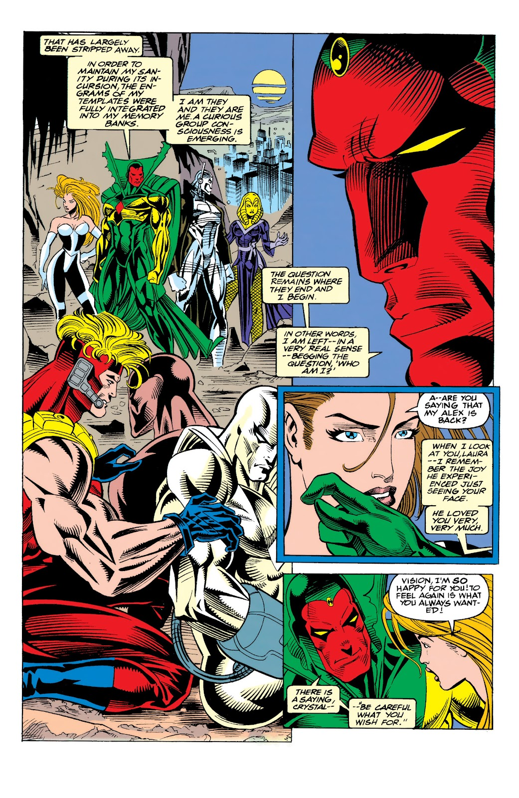 Read online The Vision comic -  Issue #4 - 22