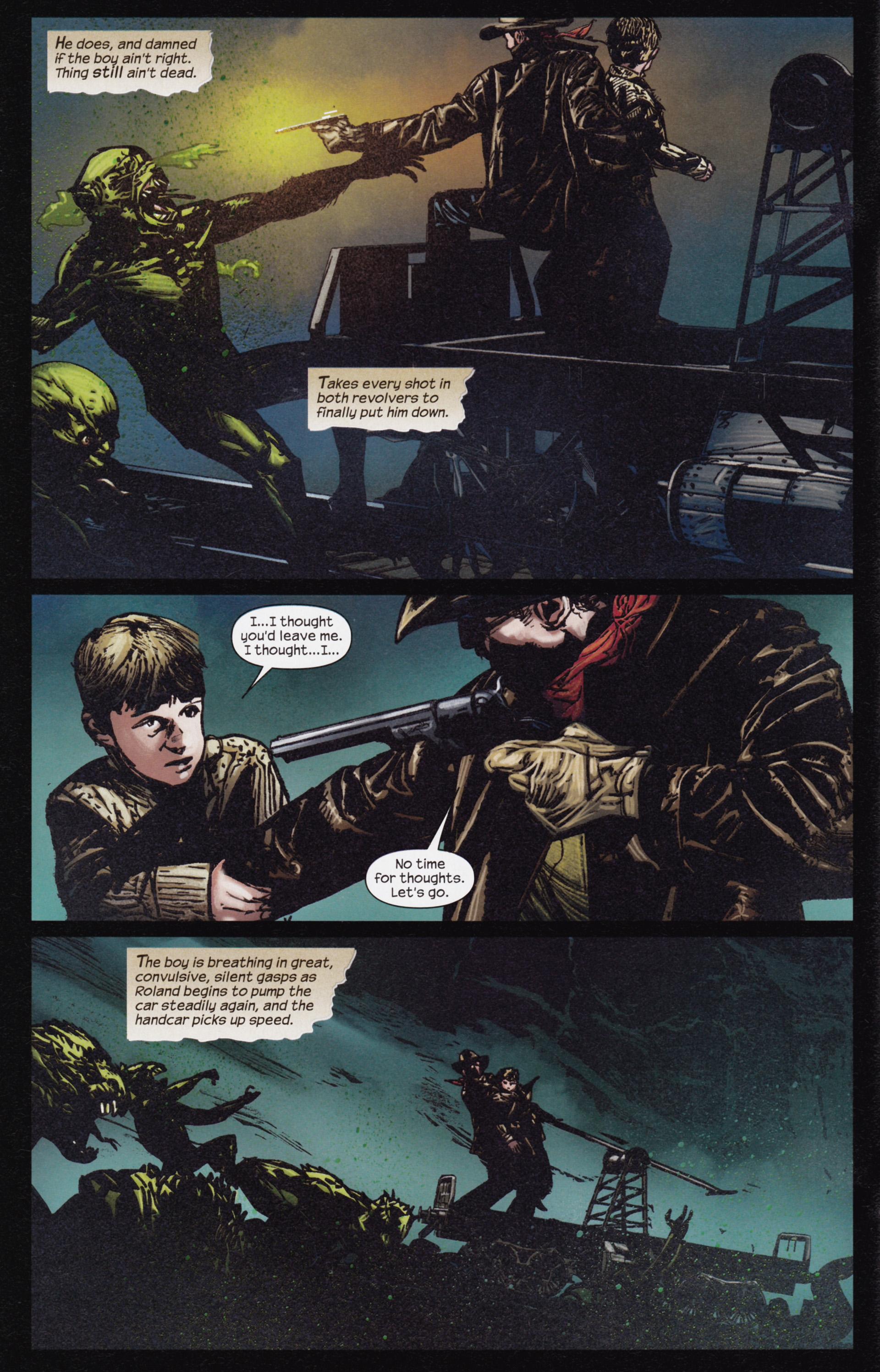Read online Dark Tower: The Gunslinger - The Man in Black comic -  Issue #3 - 7