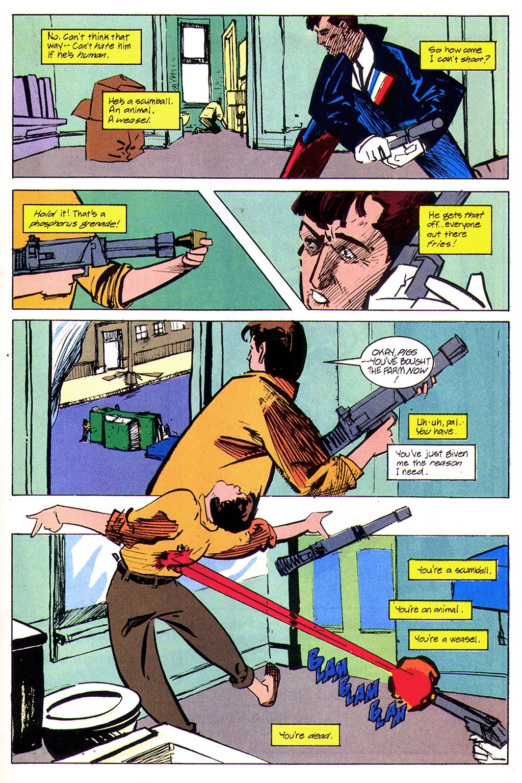 Read online American Flagg! comic -  Issue #45 - 21