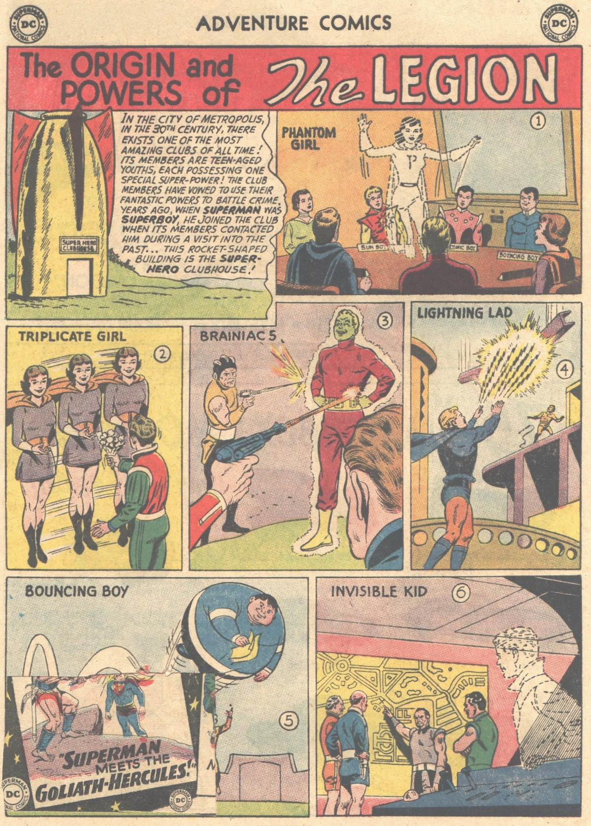 Read online Adventure Comics (1938) comic -  Issue #316 - 29