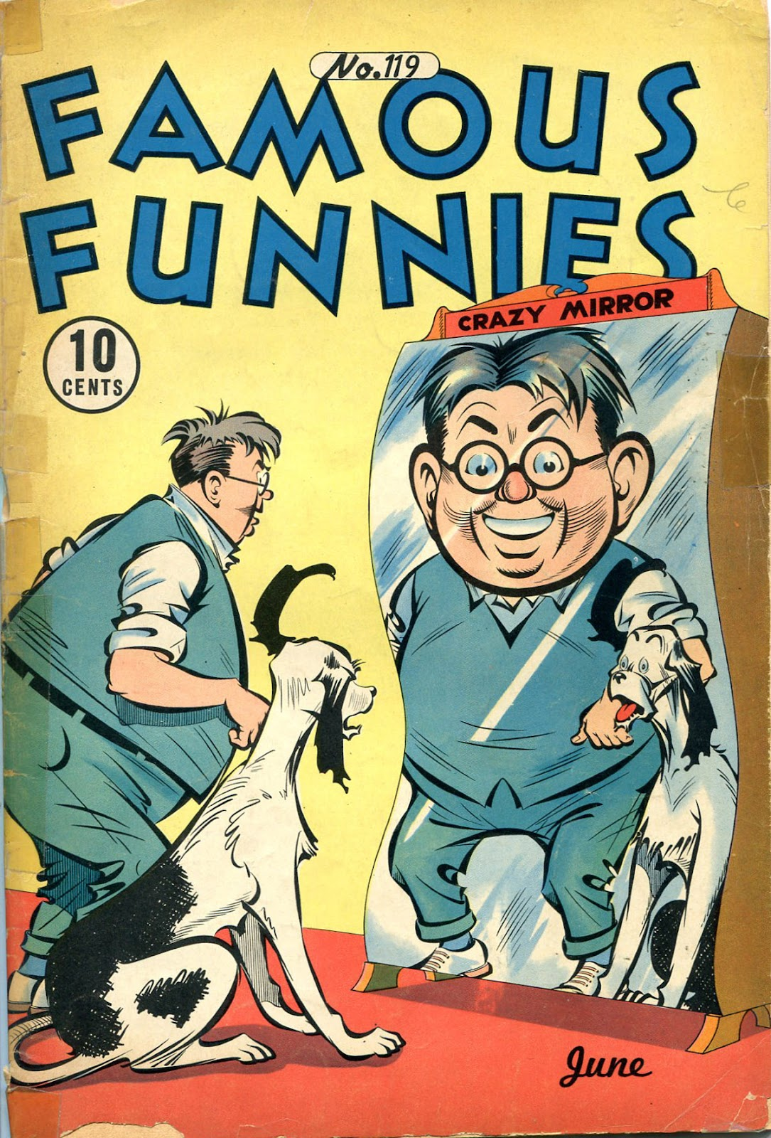 Read online Famous Funnies comic -  Issue #119 - 1