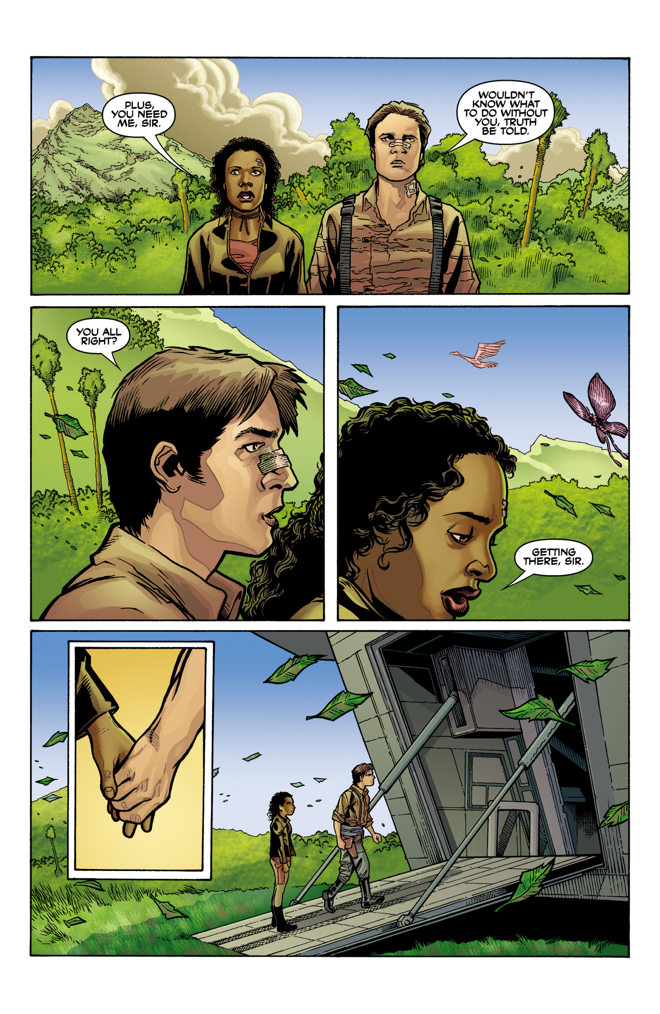 Read online Serenity: Firefly Class 03-K64  Leaves on the Wind comic -  Issue #6 - 25