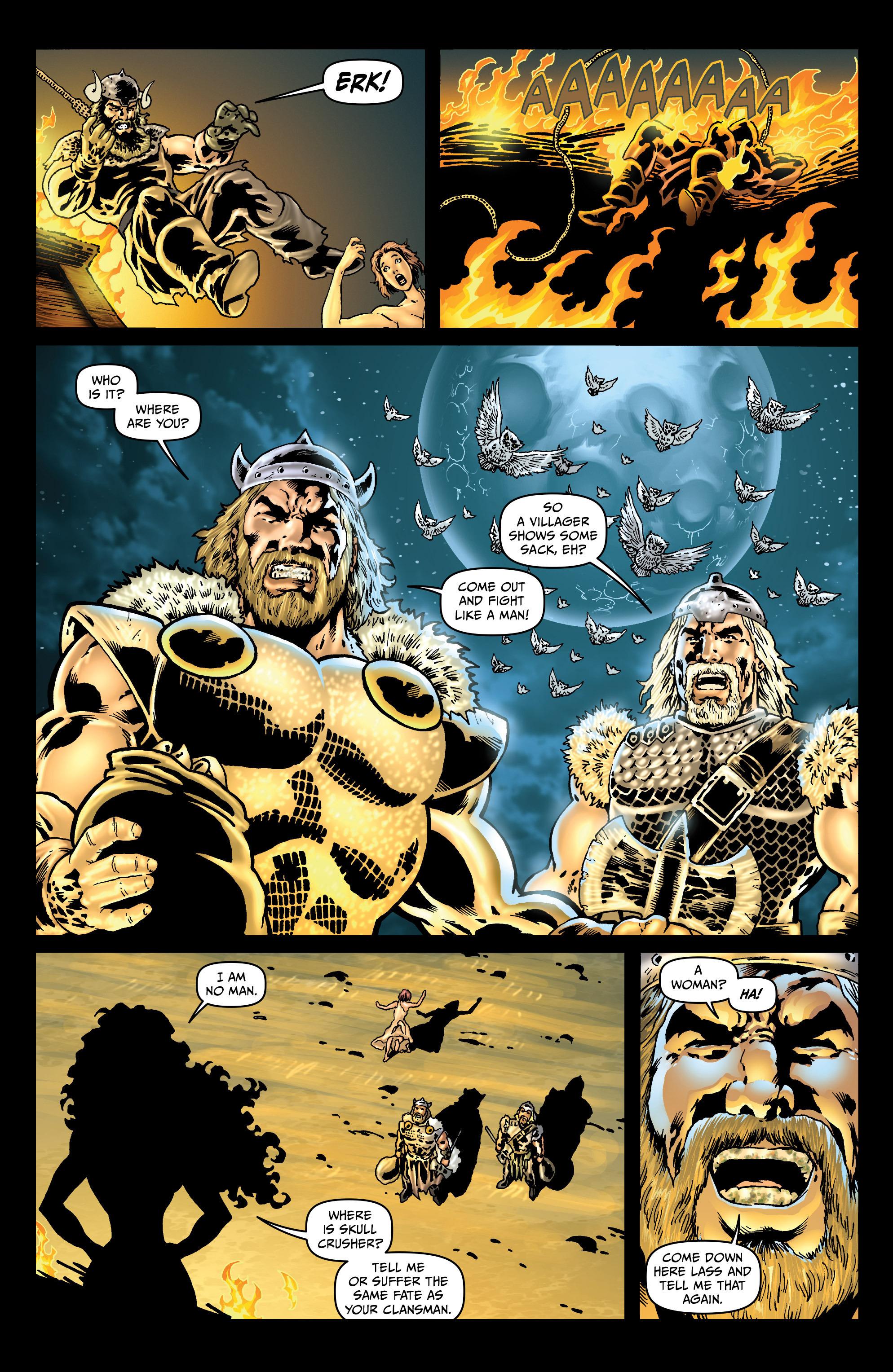 Read online Belladonna: Origins comic -  Issue #1 - 10