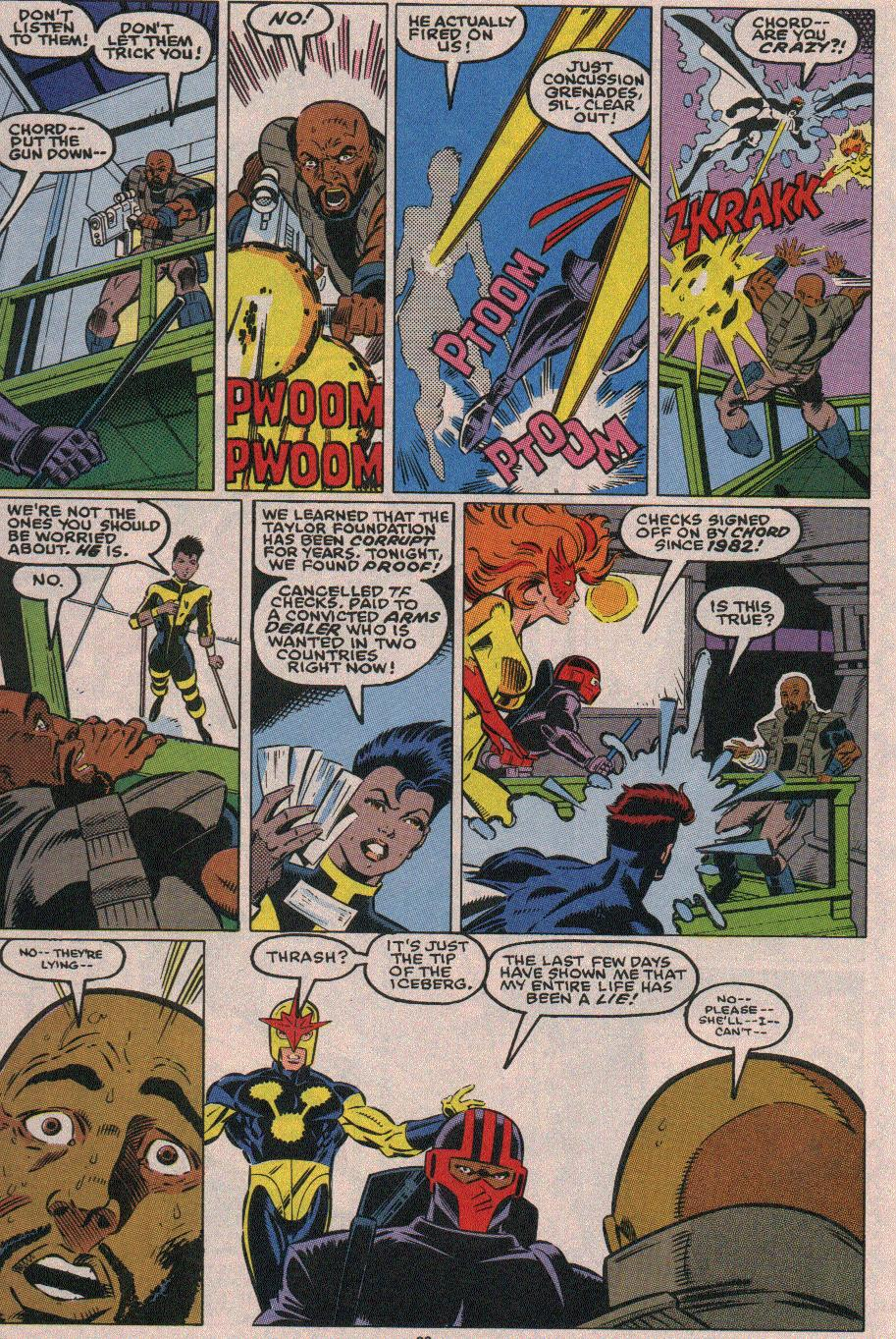 The New Warriors Issue #18 #22 - English 21