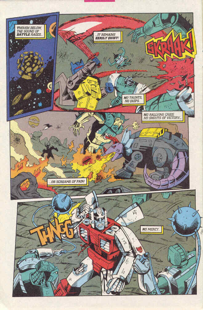 Read online Transformers: Generation 2 comic -  Issue #3 - 9