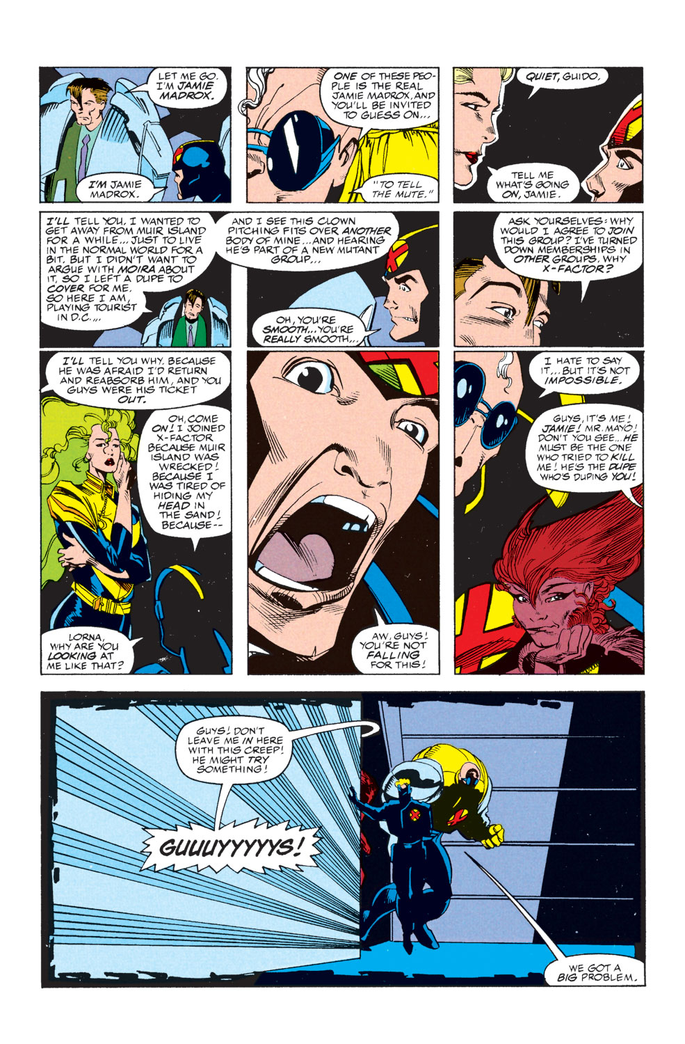 Read online X-Factor (1986) comic -  Issue #73 - 21