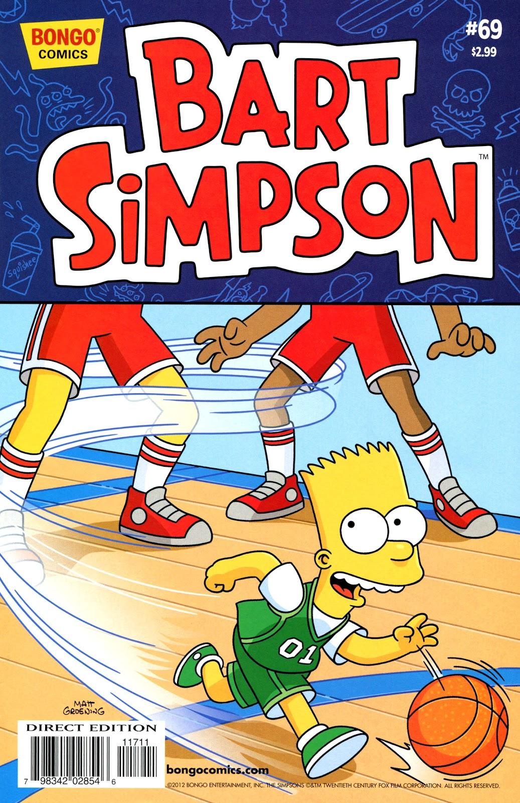 Simpsons Comics Presents Bart Simpson 69 Page 1