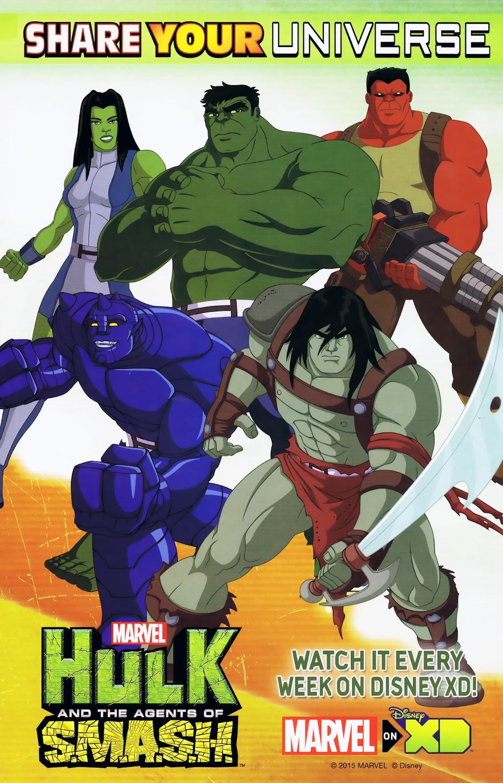 Read online Marvel Universe Avengers Assemble Season 2 comic -  Issue #9 - 2