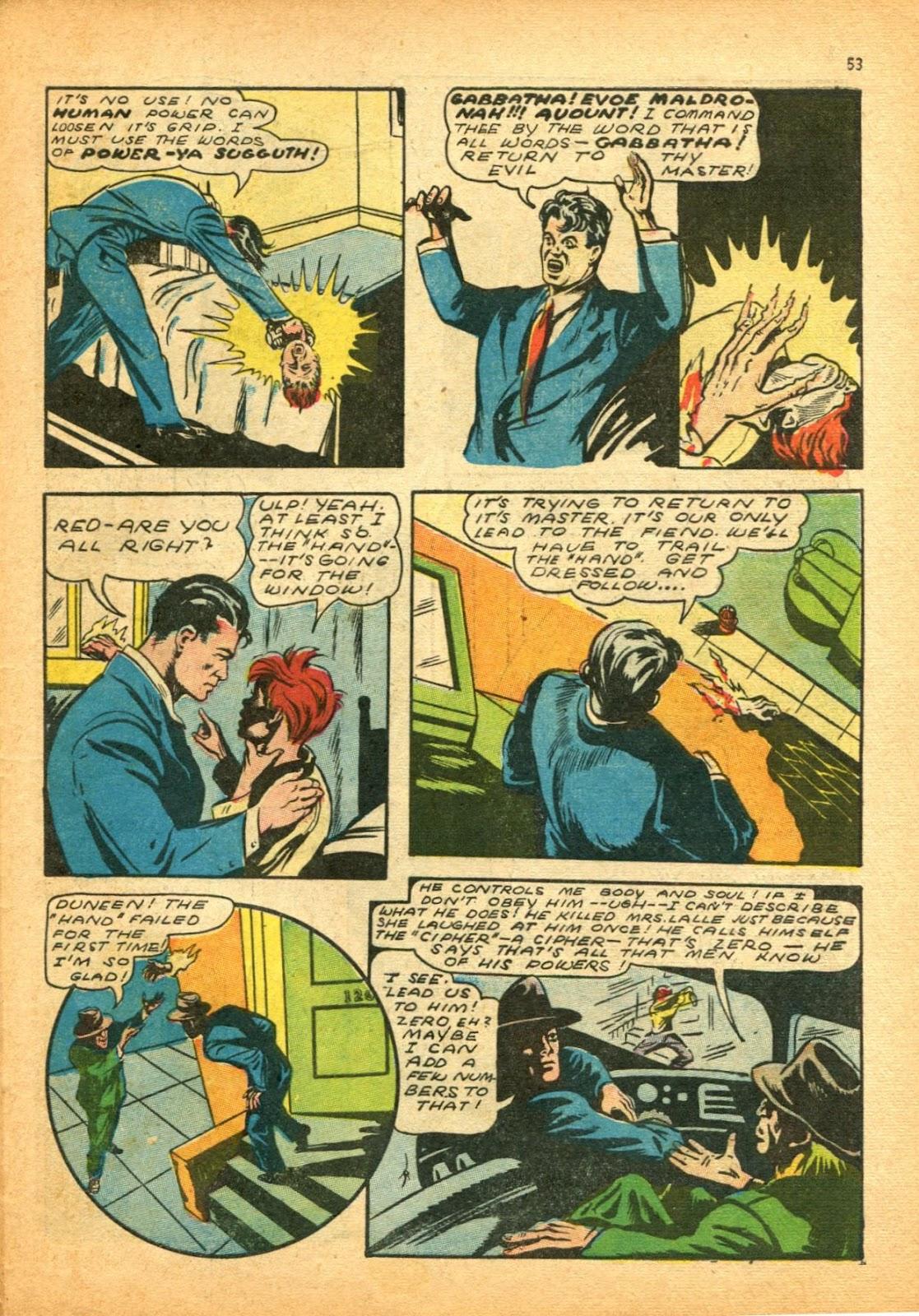 Read online Super-Magician Comics comic -  Issue #12 - 53