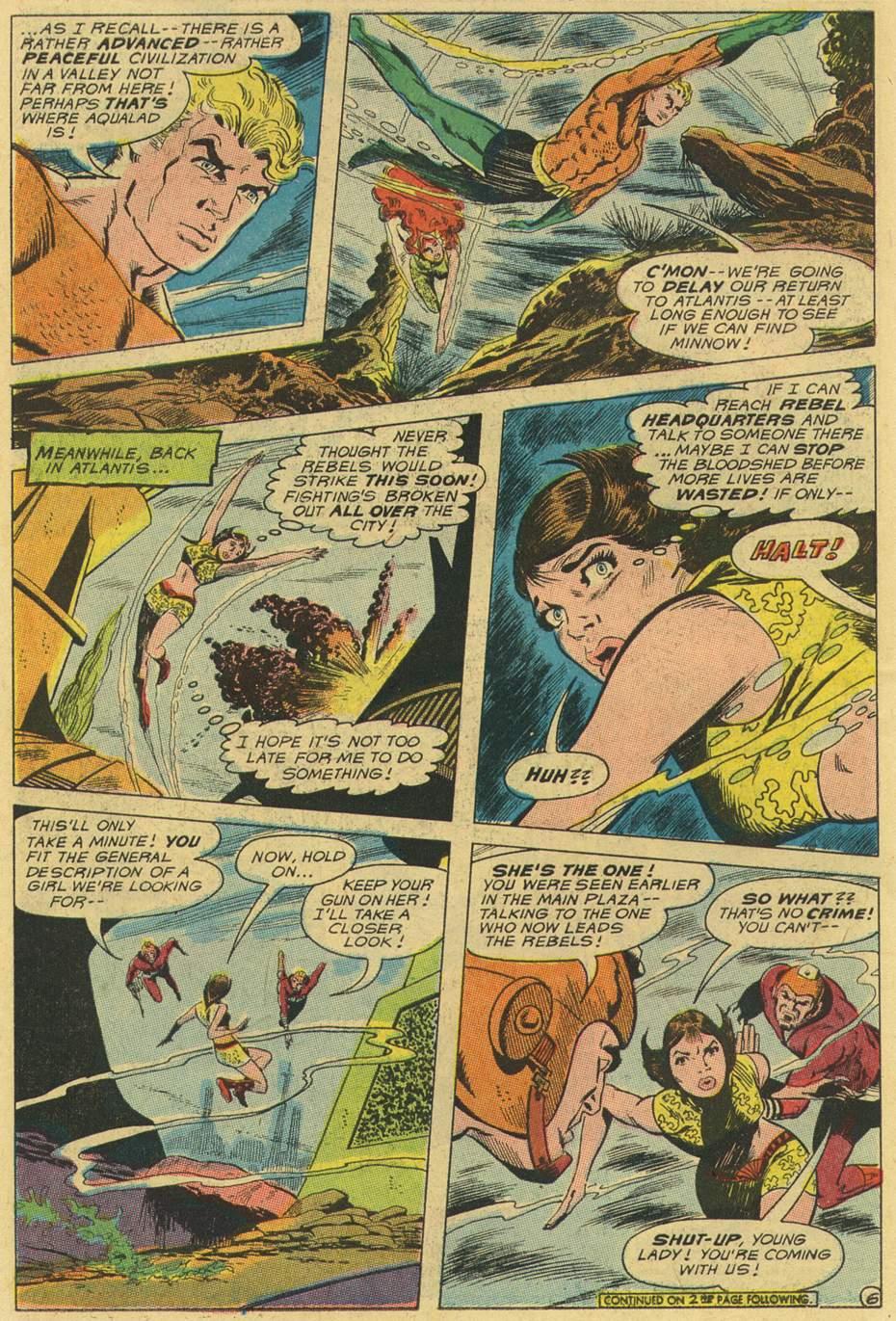 Read online Aquaman (1962) comic -  Issue #47 - 8