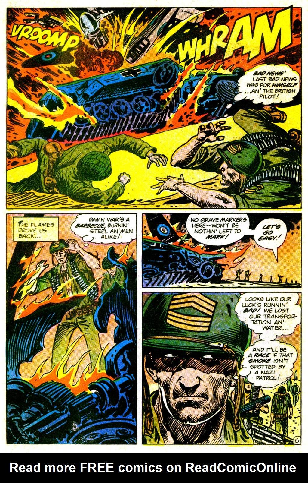 Read online Sgt. Rock comic -  Issue #373 - 9