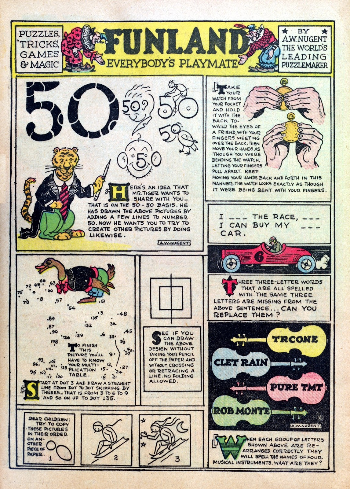 Read online Famous Funnies comic -  Issue #10 - 60