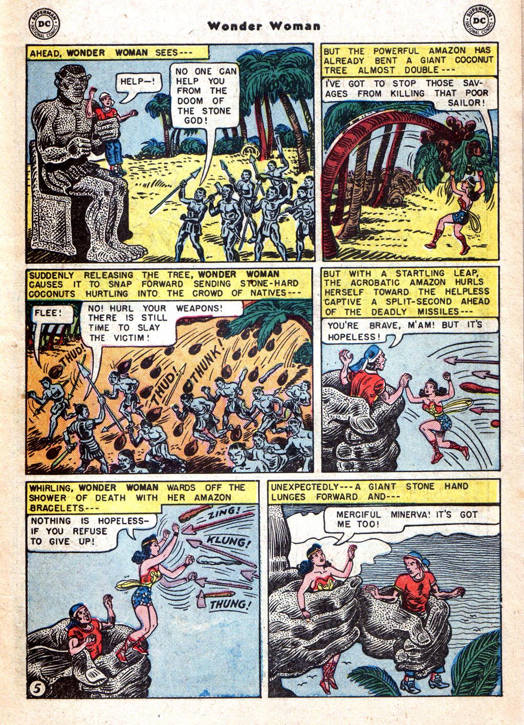 Read online Wonder Woman (1942) comic -  Issue #72 - 7