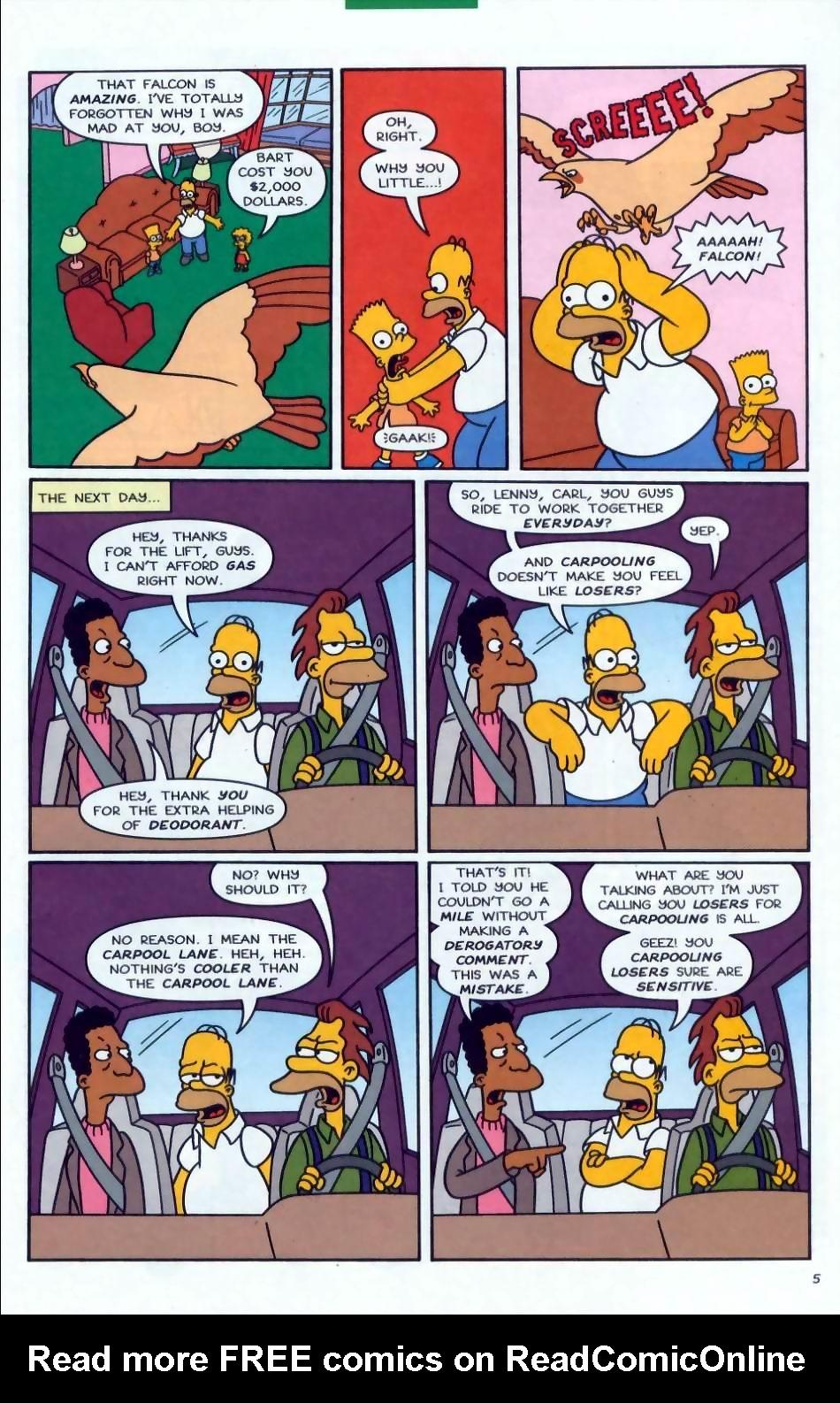 Read online Simpsons Comics comic -  Issue #72 - 6