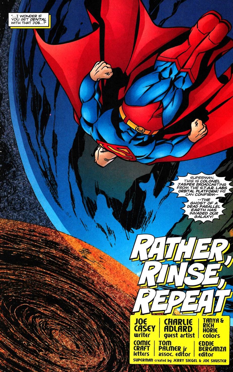 Read online Adventures of Superman (1987) comic -  Issue #617 - 4