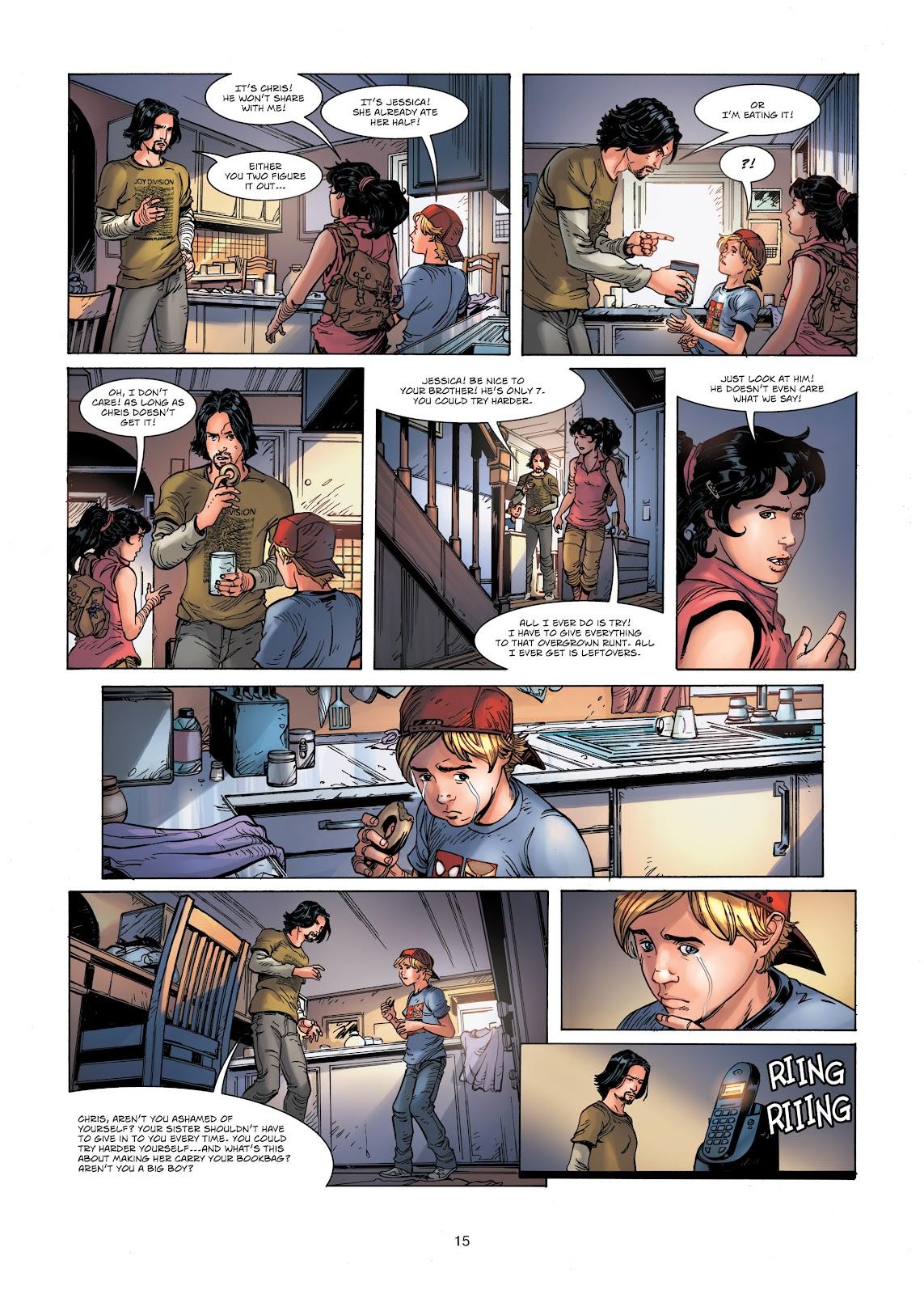 Read online Vigilantes comic -  Issue #1 - 15
