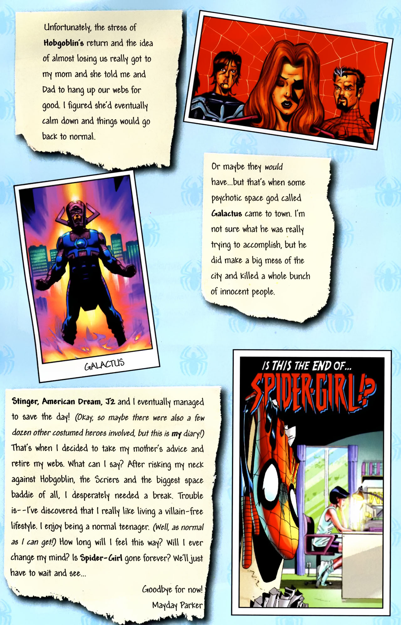 Read online Amazing Spider-Girl comic -  Issue #0 - 21