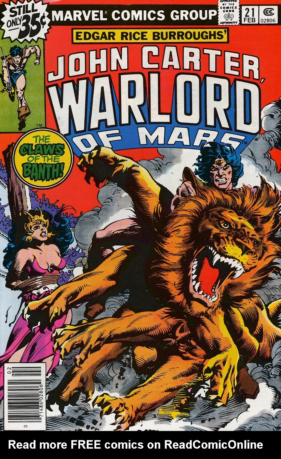 John Carter Warlord of Mars issue 21 - Page 1