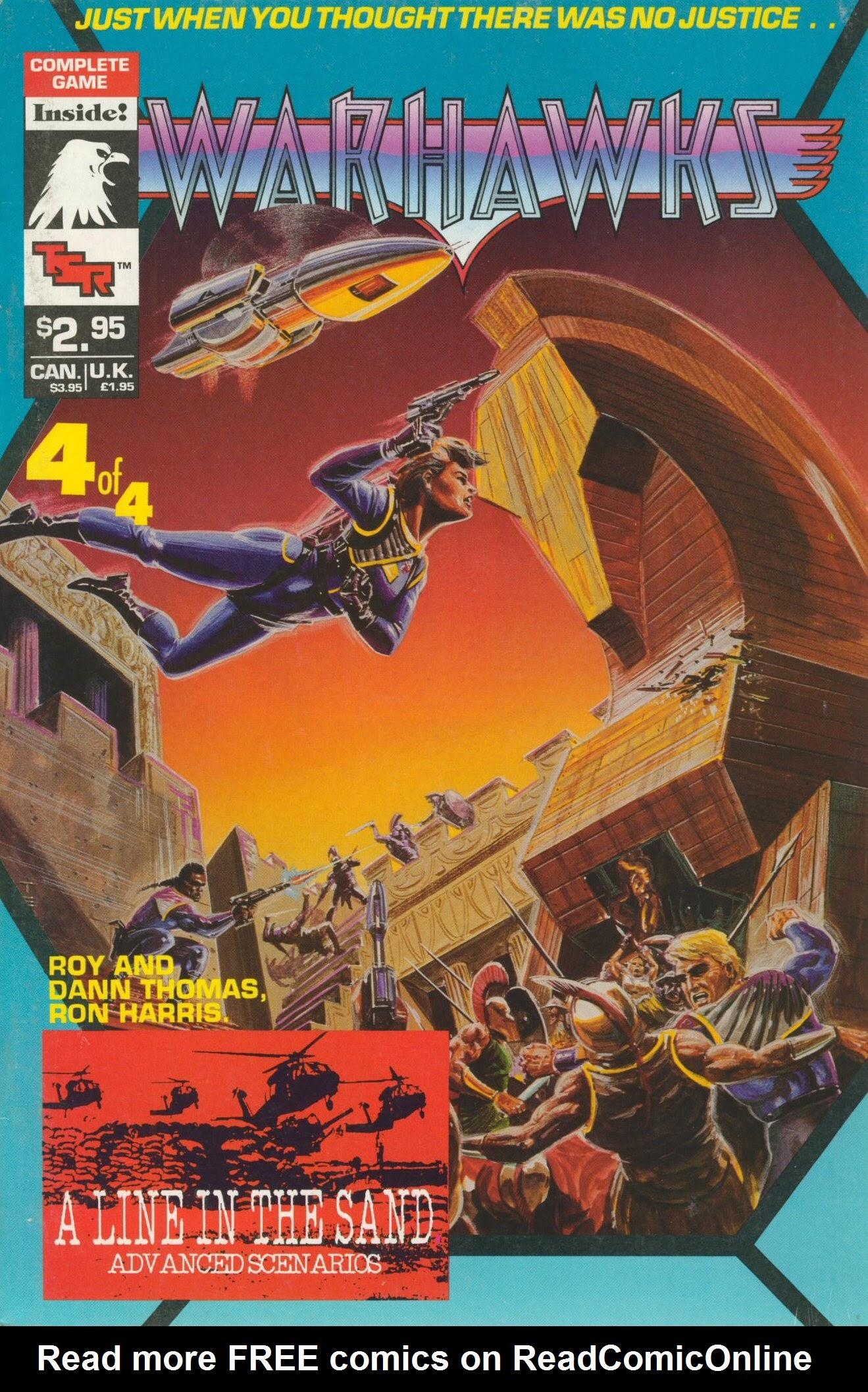 Warhawks issue 4 - Page 1