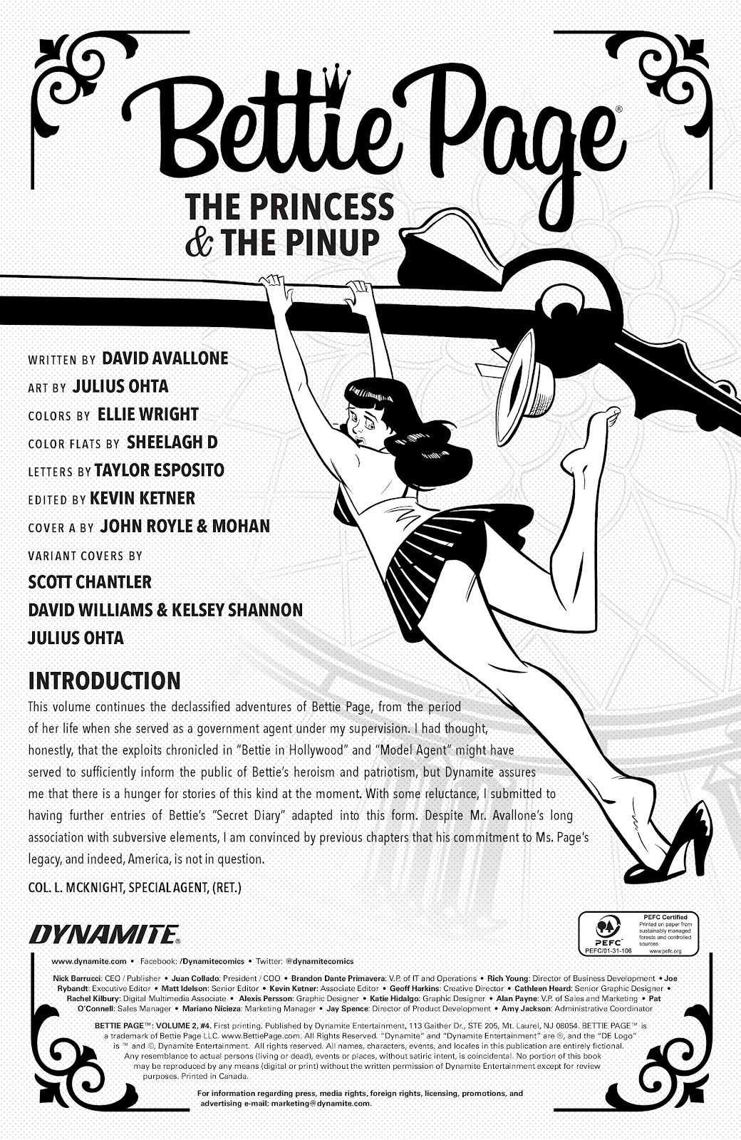 Read online Bettie Page (2018) comic -  Issue #4 - 6