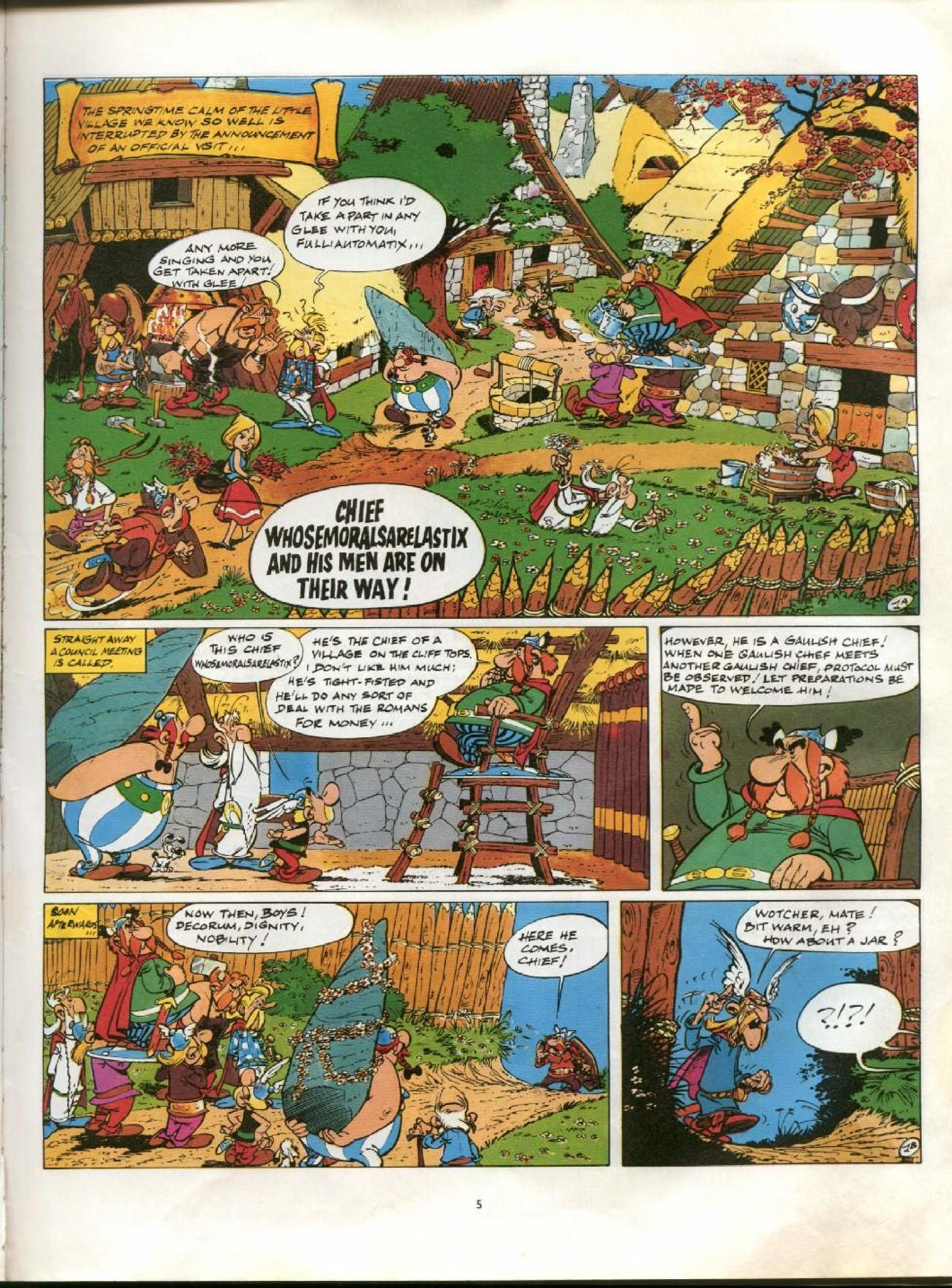 Read online Asterix comic -  Issue #13 - 2