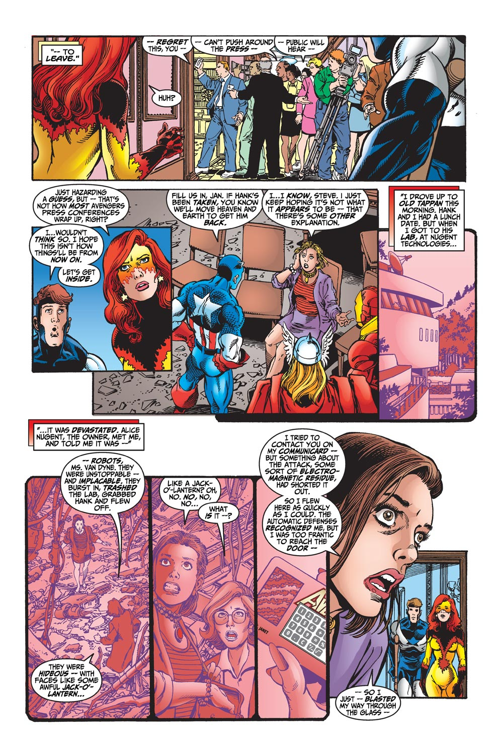 Read online Avengers (1998) comic -  Issue #19 - 11