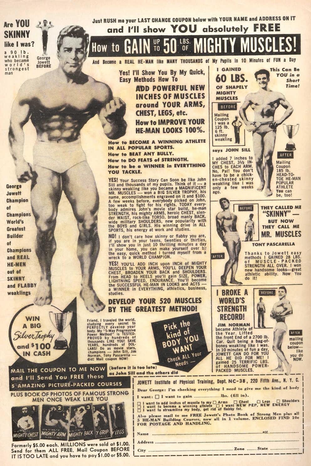 Read online Adventure Comics (1938) comic -  Issue #251 - 2