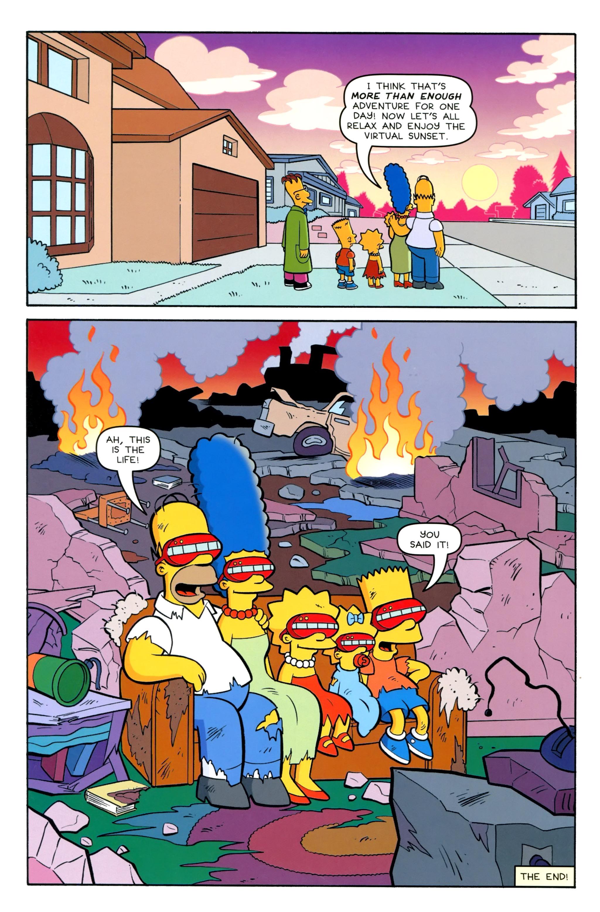 Read online Simpsons Comics Presents Bart Simpson comic -  Issue #100 - 43