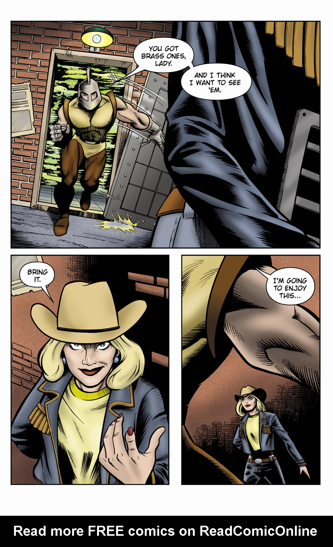 Read online SideChicks comic -  Issue #3 - 7