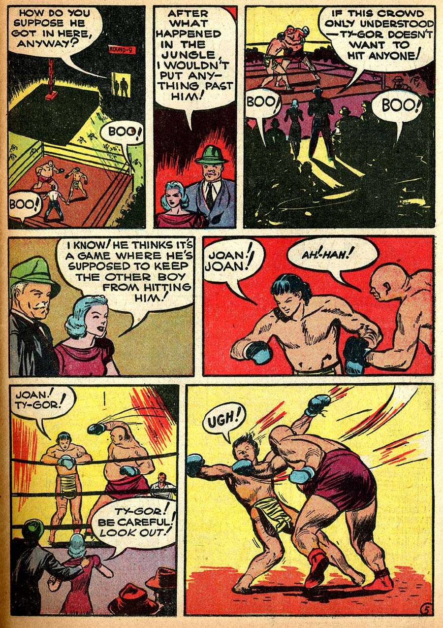 Blue Ribbon Comics (1939) issue 8 - Page 47