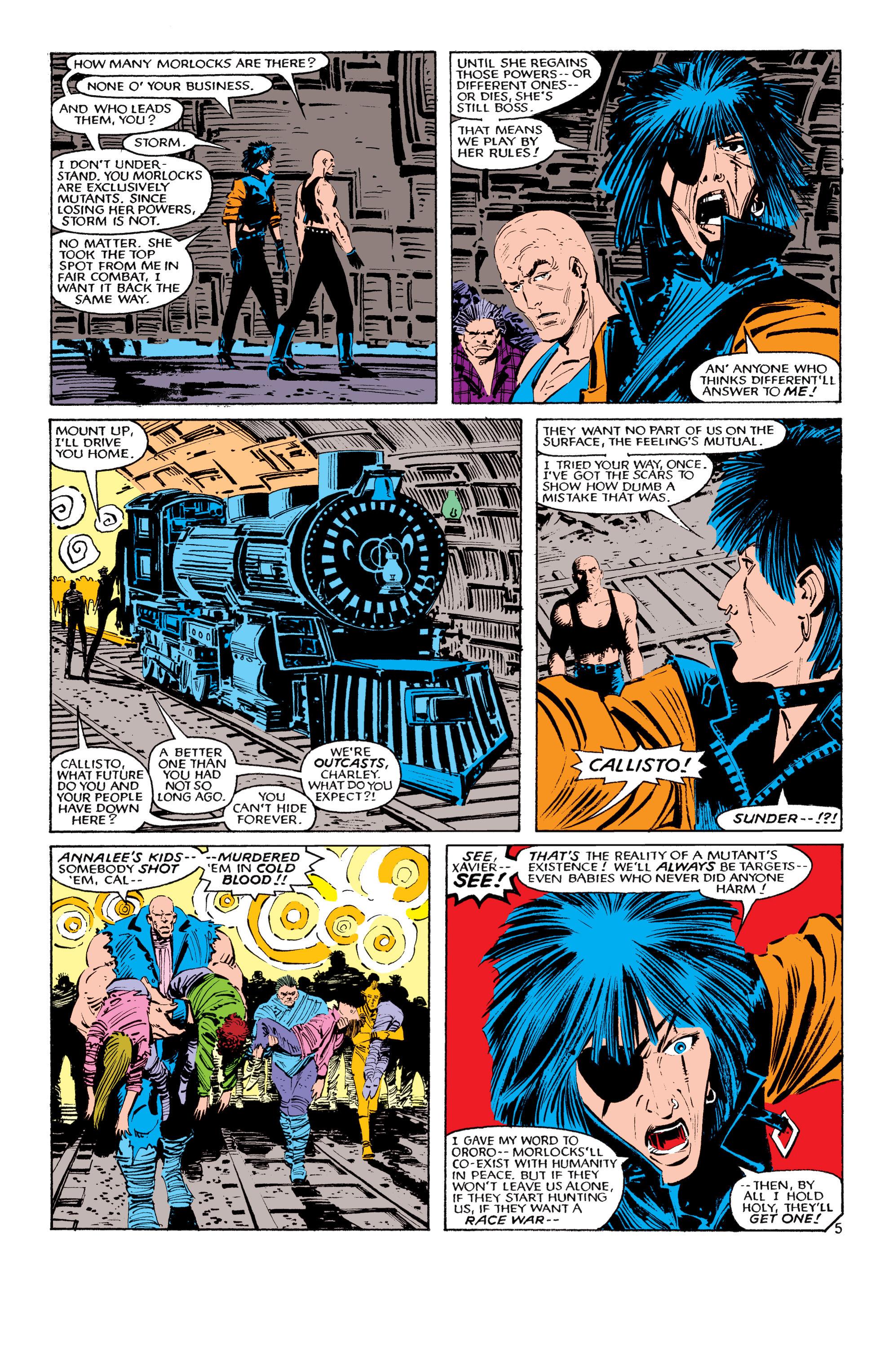 Read online Uncanny X-Men (1963) comic -  Issue #193 - 6