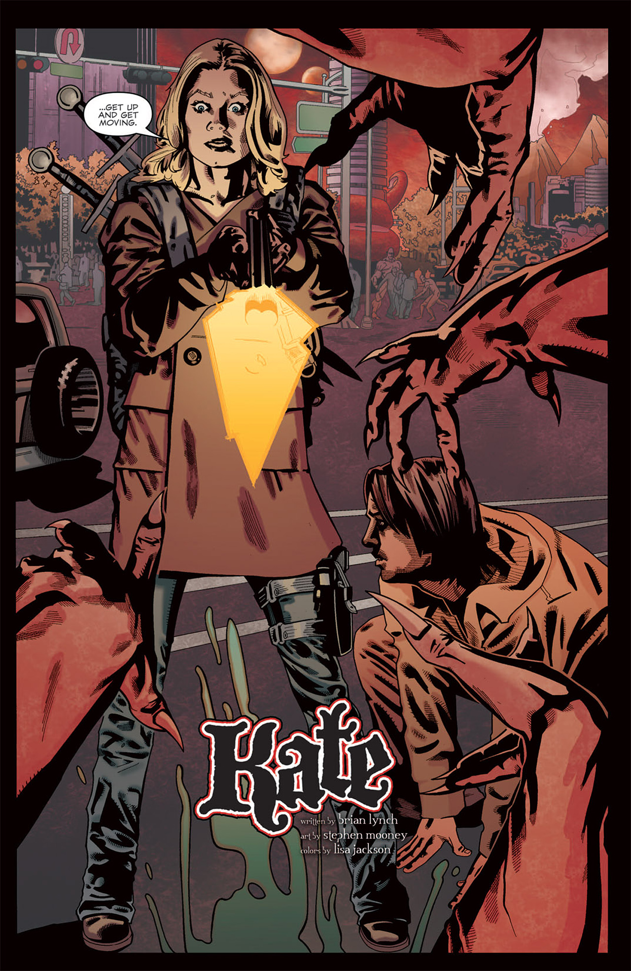 Read online Angel: After The Fall comic -  Issue #7 - 17