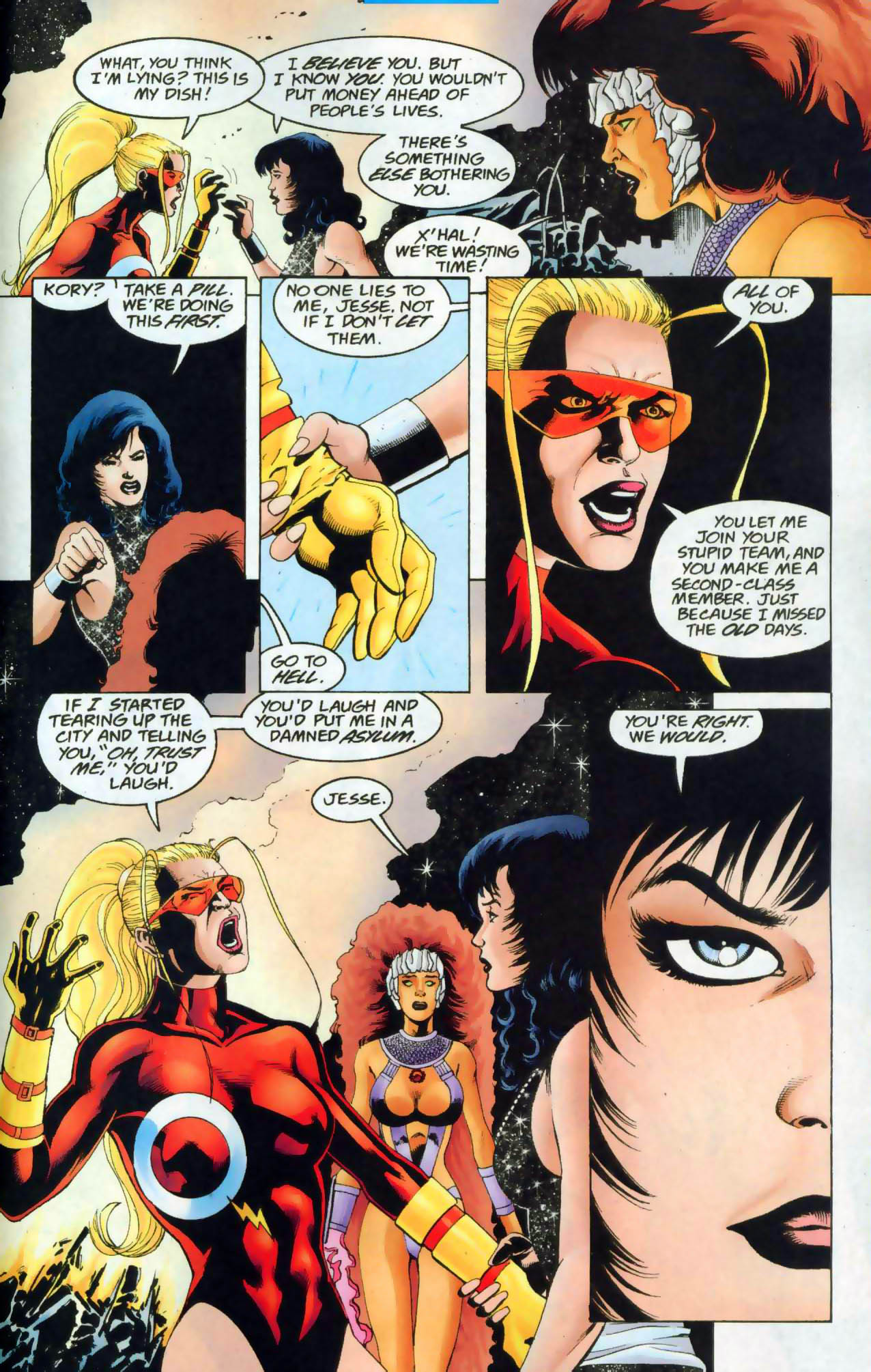Read online The Titans (1999) comic -  Issue #48 - 18