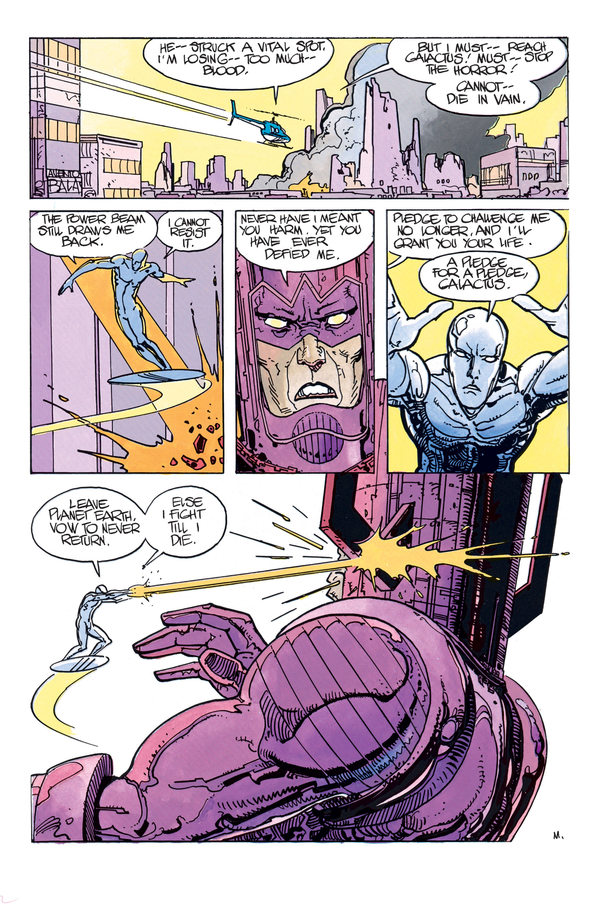 Read online Silver Surfer: Parable comic -  Issue # TPB - 37