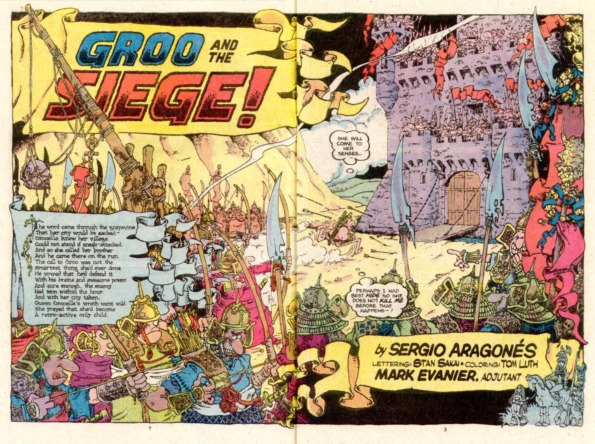 Read online Sergio Aragonés Groo the Wanderer comic -  Issue #19 - 3