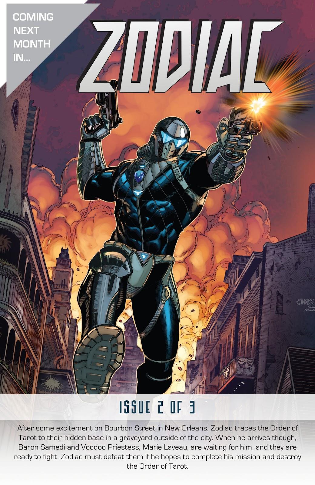 Read online Zodiac comic -  Issue #1 - 32